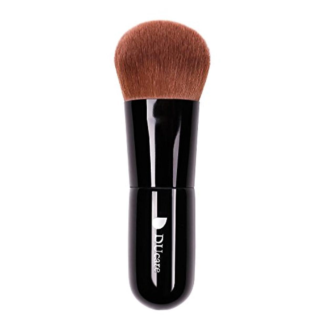 性能叙情的な十二ドゥケア(DUcare) 化粧筆 ファンデーションブラシ フェイスブラシ 最高級のタクロンを使用