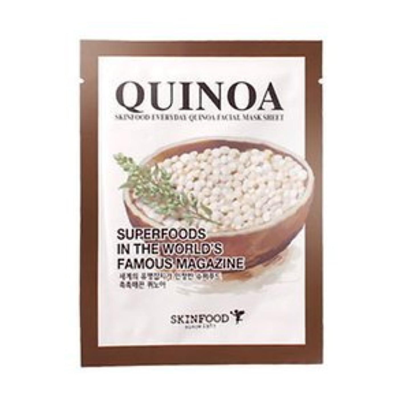 予報充電フルーツ野菜[Outlet] SKINFOOD Everyday QUINOA Facial Mask Sheet 5EA / スキンフー ドエブリデイフェイシャルマスクシート5EA [並行輸入品]
