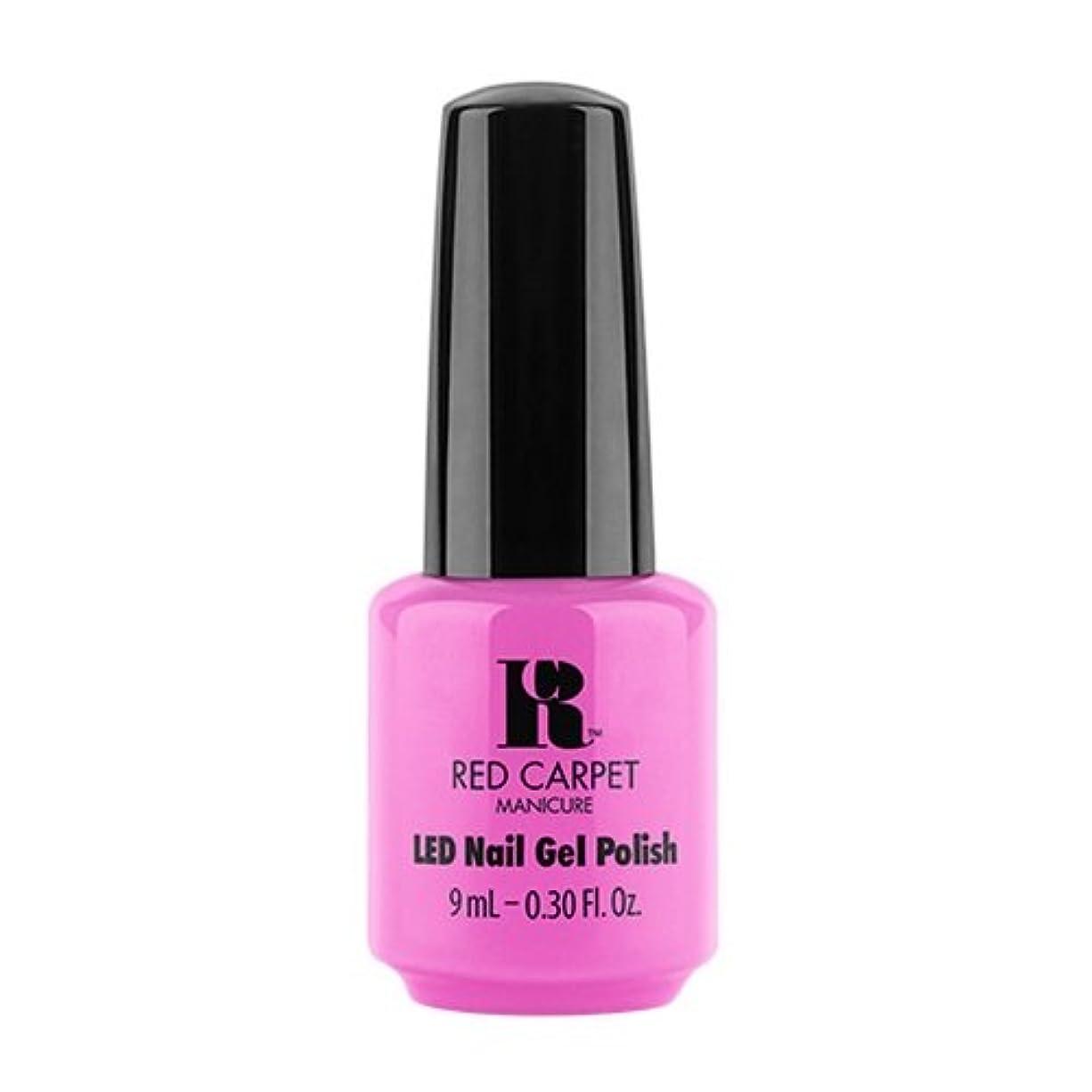 誇張するプーノ熟したRed Carpet Manicure - LED Nail Gel Polish - Summer 2017 Fiji Fever - Shake Your Beach Bum - 0.3oz / 9ml