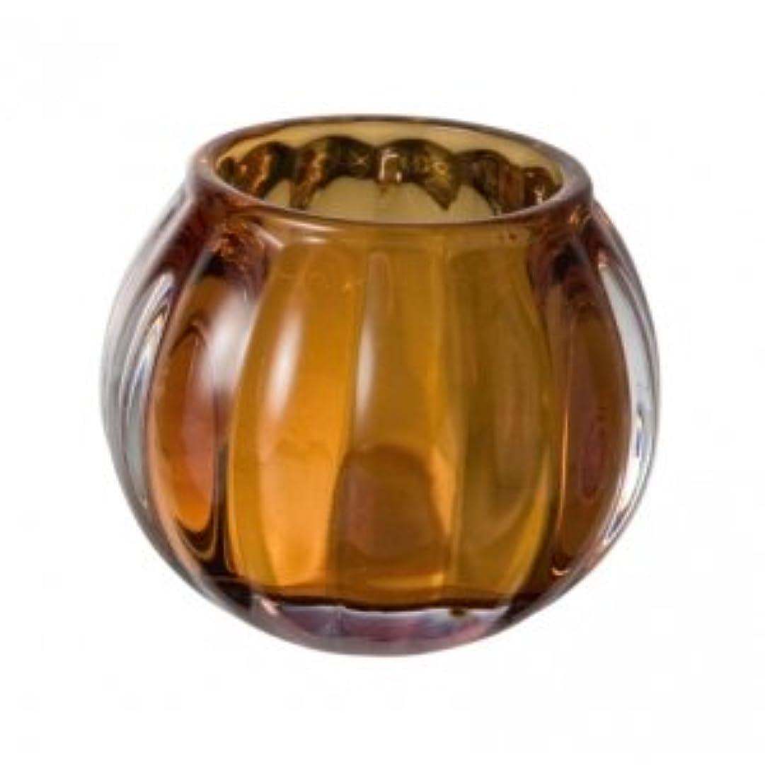 お風呂のぞき見極端なキャンドルグラス スクワッシュ アンバー