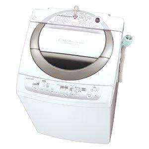 RoomClip商品情報 - 東芝 8.0kg 全自動洗濯機 ピュアホワイトTOSHIBA AW-80DM-W