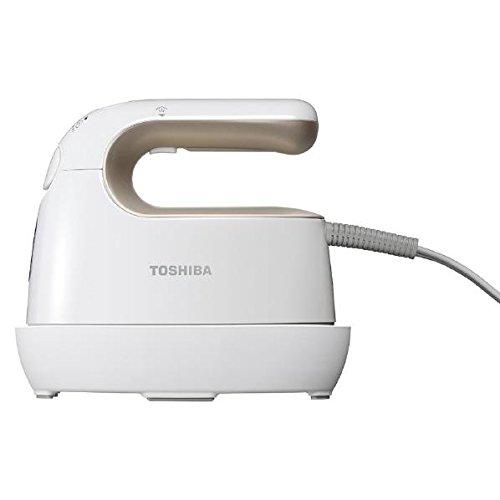 [해외]도시바 의류 스티머 골드 화이트 TOSHIBA TAS-X3-NW/Toshiba clothing steamer gold white TOSHIBA TAS-X3-NW
