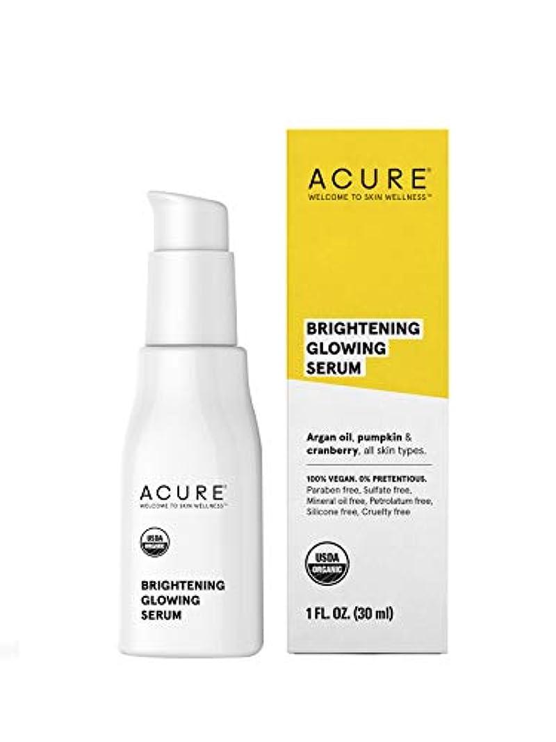 叙情的なリングバック再編成するAcure Organics オーガニック フェイシャルセラム(30ml)[海外直送品][並行輸入品]