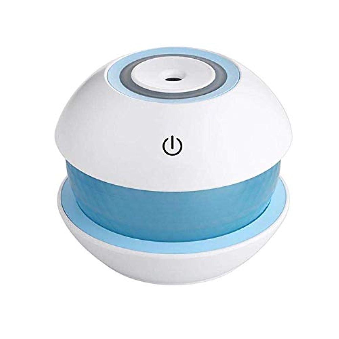 哀れな昇進南東SOTCE アロマディフューザー加湿器超音波霧化技術エッセンシャルオイル快適な雰囲気満足のいく解決策 (Color : Blue)
