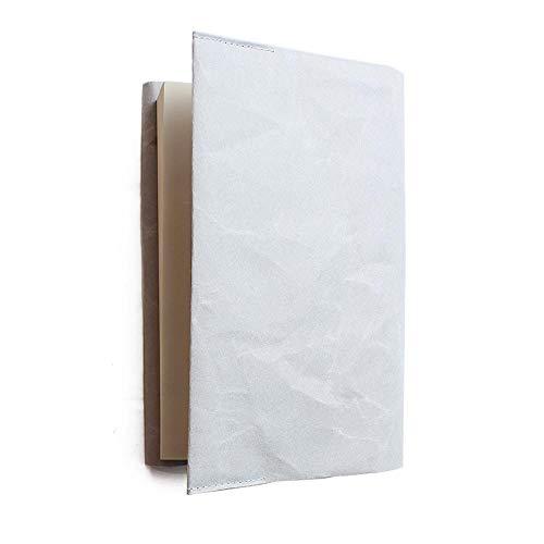 【SIWA|紙和】Book cover 180x305mm新書カバー 【Made in Japan(Yamanashi)】【紙製】【p】 お選びください,05Grey