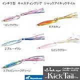 ハヤブサ(Hayabusa) ルアー ジャックアイ インチク型キャスティングジグ ジャックアイキックテイル FS413 20g 4 アカキン