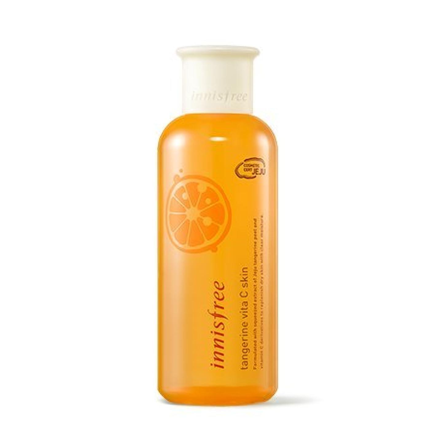 アプトジャグリング連想[New] innisfree Tangerine Vita C Skin 200ml/イニスフリー タンジェリン ビタ C スキン 200ml [並行輸入品]