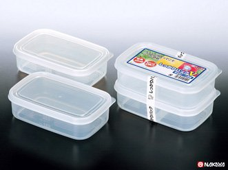 食品の保存に 小物の整理に 日本製 しっかりパック 2個入り (Vサイズ)