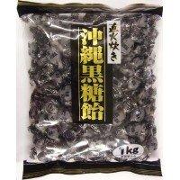 桃太郎製菓 直火炊き 沖縄黒糖飴 1kg×10袋セット
