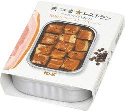 K&K 缶つま★レストラン 厚切りベーコン プレーン 12缶セット