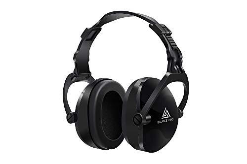 Balanceland 防音 イヤーマフ 騒音 対策 聴覚過敏 遮音値30dB ANSI S3.19&CE EN352-1認証済み 折り畳み式 超弾力性 子供 キッズ 大人 勉強 仕事 睡眠 イビキ対策 工場 自閉症 等様々な用途に