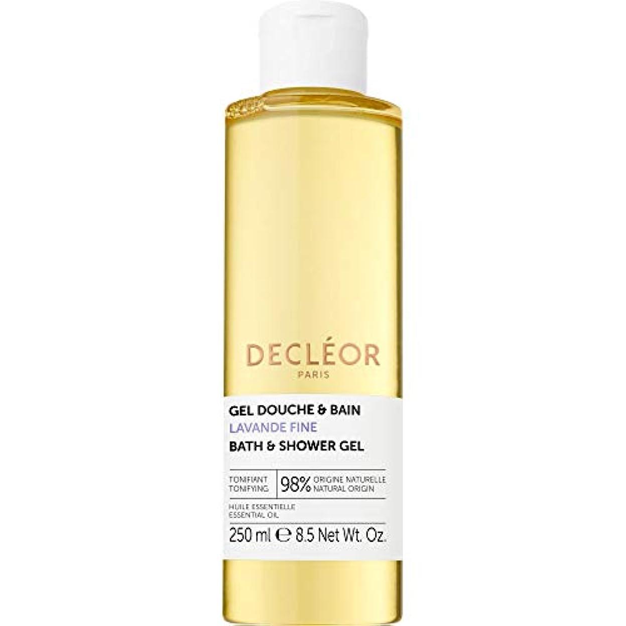 ポジション瞑想計り知れない[Decl?or ] デクレオールラバンデ細かいバス&シャワージェル250ミリリットル - Decleor Lavande Fine Bath & Shower Gel 250ml [並行輸入品]