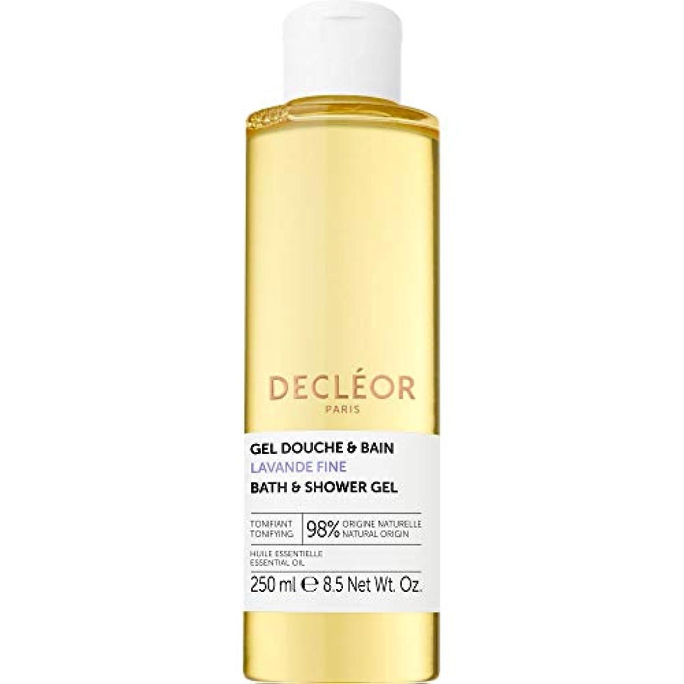 レシピ常にタイヤ[Decl?or ] デクレオールラバンデ細かいバス&シャワージェル250ミリリットル - Decleor Lavande Fine Bath & Shower Gel 250ml [並行輸入品]