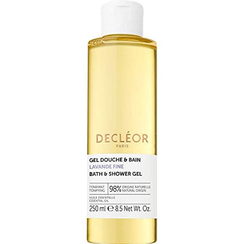 低い開発するモード[Decl?or ] デクレオールラバンデ細かいバス&シャワージェル250ミリリットル - Decleor Lavande Fine Bath & Shower Gel 250ml [並行輸入品]