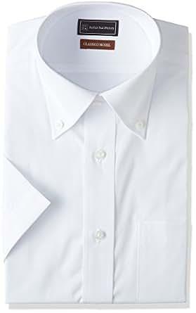 (ピーエスエフエー) P.S.FA 半袖 形態安定 クラシコモデルワイシャツ P162170037 01 01_ホワイト LL
