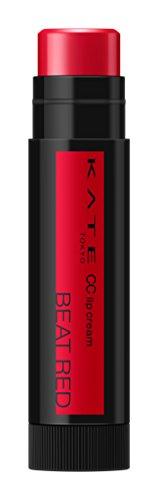 ケイト CCリップクリームN 01 BEAT RED 発色のよいレッド