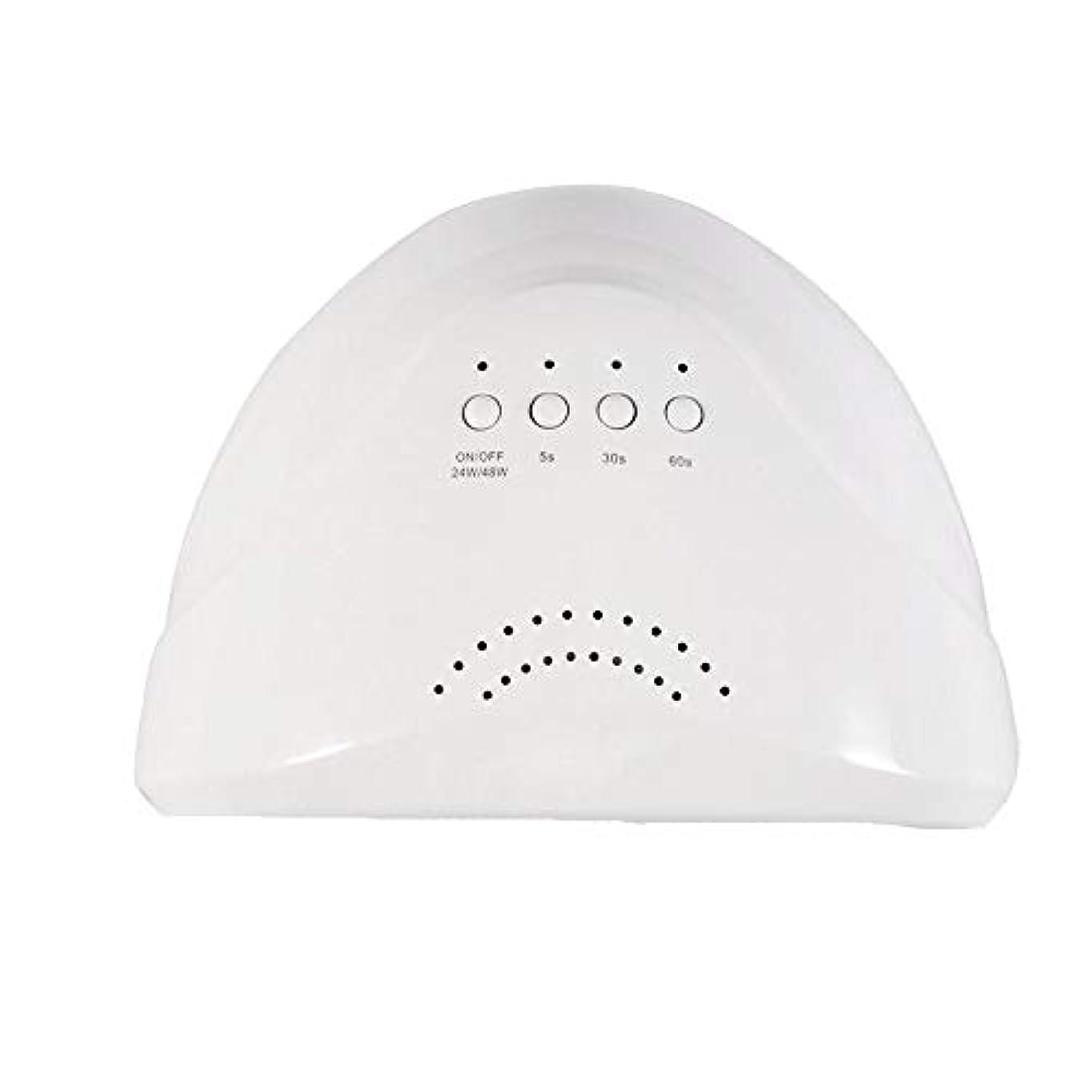 つばセレナ電化するYESONEEP ネイルランプドライヤー太陽光療法機UV Led光線療法ランプ48ワット誘導ネイルランプライトマニキュアツール (Size : 48W)