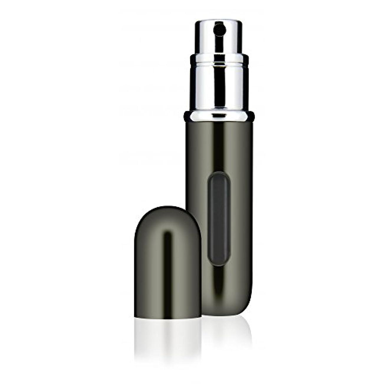 グレード窓を洗う狂った香水 アトマイザー Travalo Classic トラヴァーロ クラシック 香水10秒チャージ 香水スプレー (チタン)