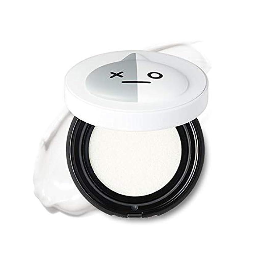 再生咲く実際BT21 × VT Cosmetic クーリング フィット サンクッション / COOLING FIT SUN CUSHION [並行輸入品]