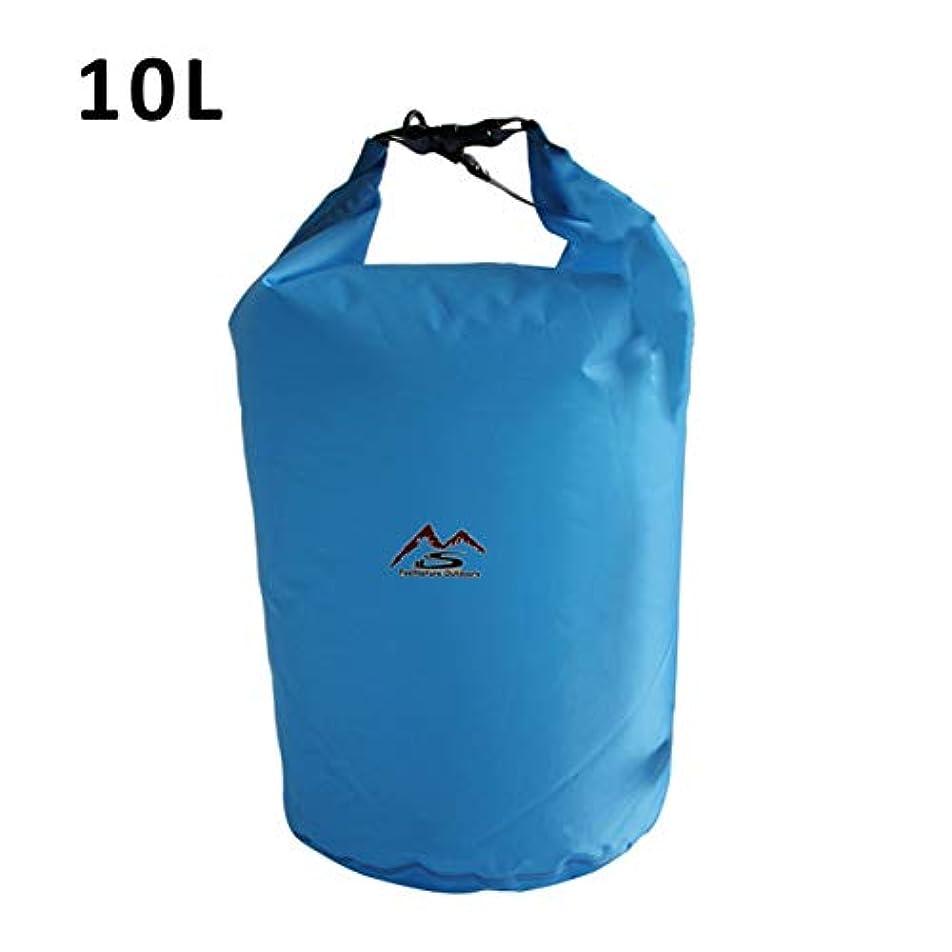 肘墓靄DeeploveUU 屋外ドライ防水バッグ10 lドライバッグ袋防水フローティングドライギアバッグ用ボート釣りラフティング水泳