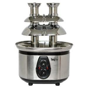 トータルシェフ ダブルタワー チョコレートファウンテン Total Chef WTF-43 Stainless-Steel Double-Tower Chocolate Fountain .NIHON★IMPORT .