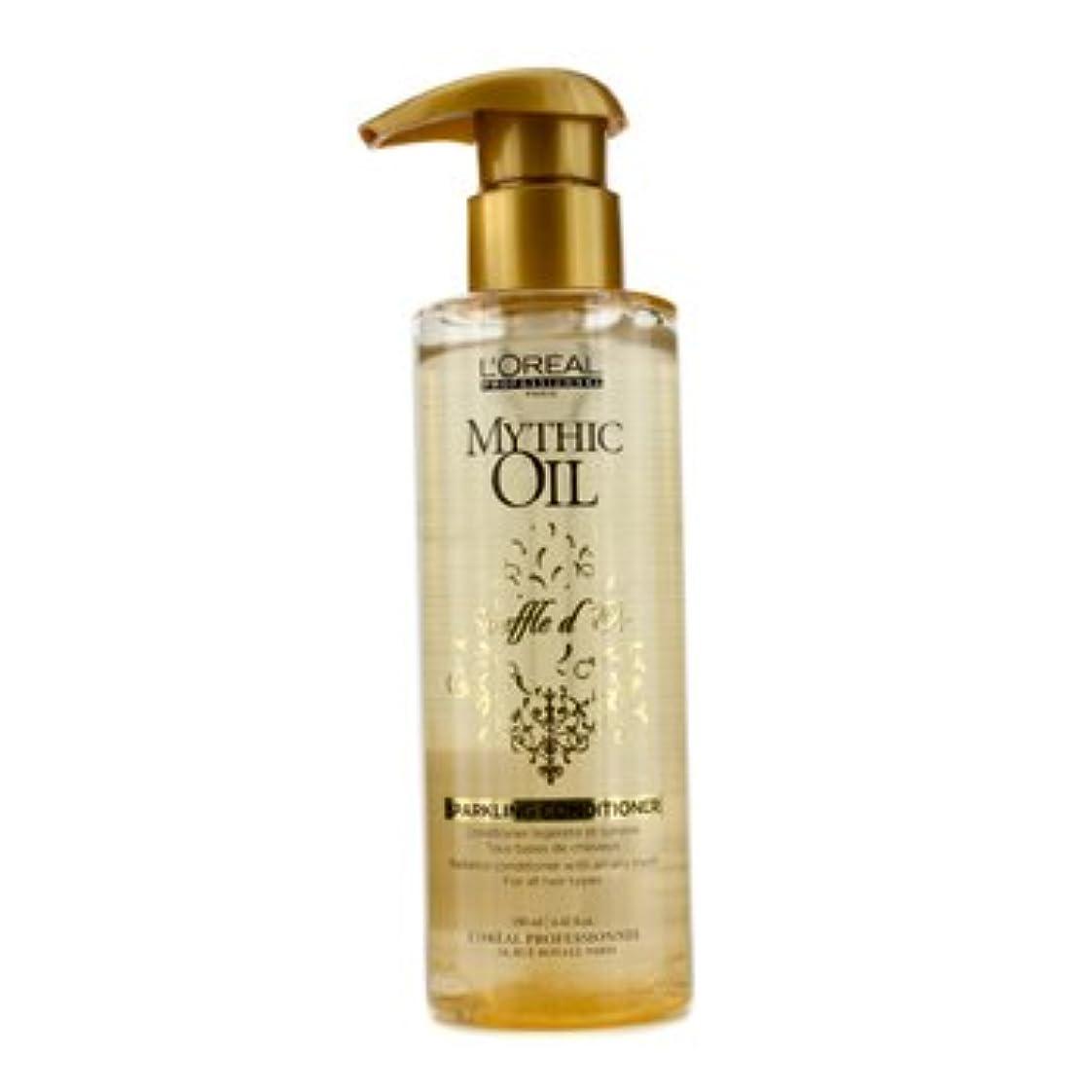 未就学従順な誰も[LOreal] Mythic Oil Souffle dOr Sparkling Conditioner (For All Hair Types) 190ml/6.42oz