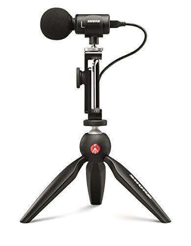 SHURE コンデンサーマイク MOTIVシリーズ iPhone iPad MV88+ ビデオキット ライブストリーミング/クリエイ...