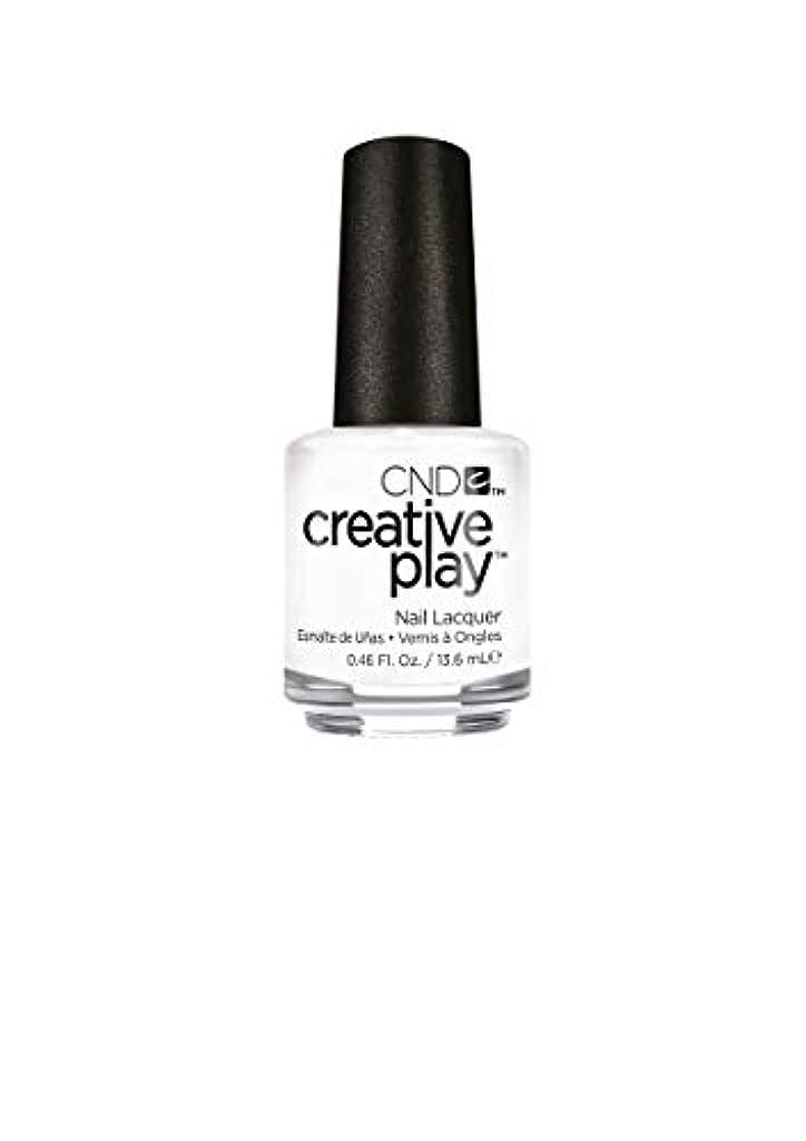 レジデンスインフルエンザ微視的CND Creative Play Lacquer - I Blanked Out - 0.46oz / 13.6ml