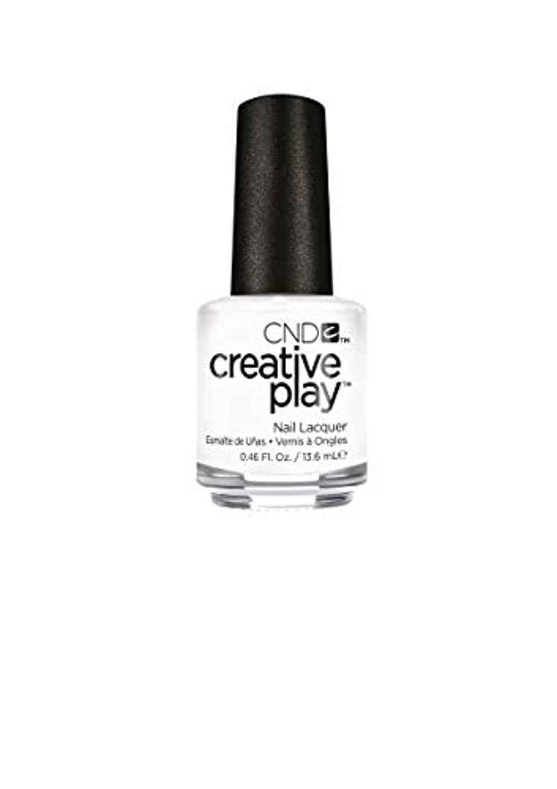 おなじみの上級復活するCND Creative Play Lacquer - I Blanked Out - 0.46oz / 13.6ml