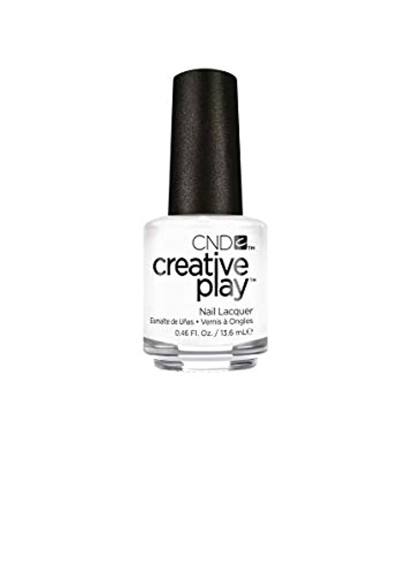 不公平プロジェクター果てしないCND Creative Play Lacquer - I Blanked Out - 0.46oz / 13.6ml