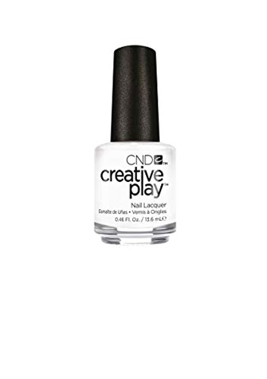 オーバーコートセーブ乱用CND Creative Play Lacquer - I Blanked Out - 0.46oz / 13.6ml