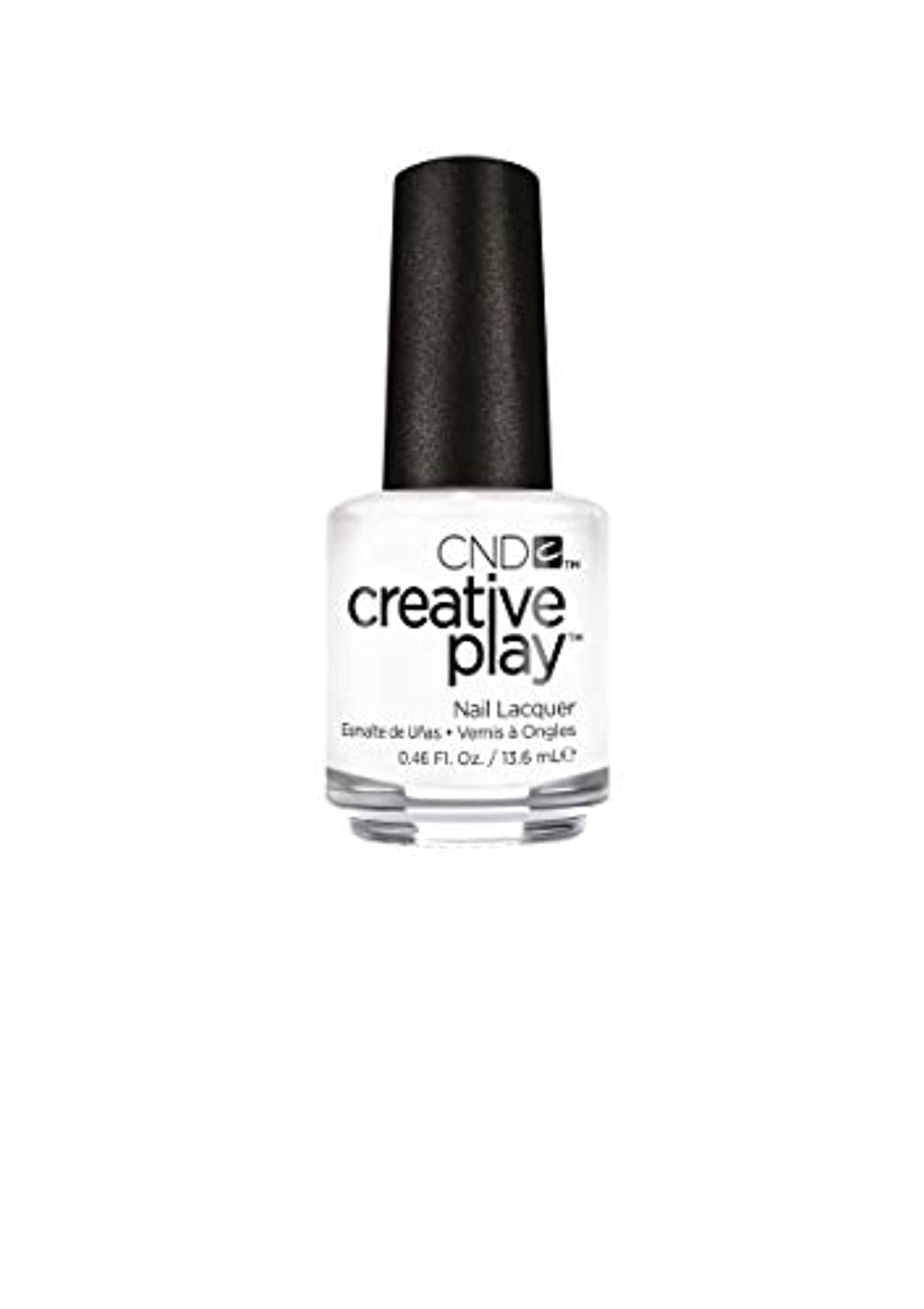 悪質な神秘的な正当なCND Creative Play Lacquer - I Blanked Out - 0.46oz / 13.6ml