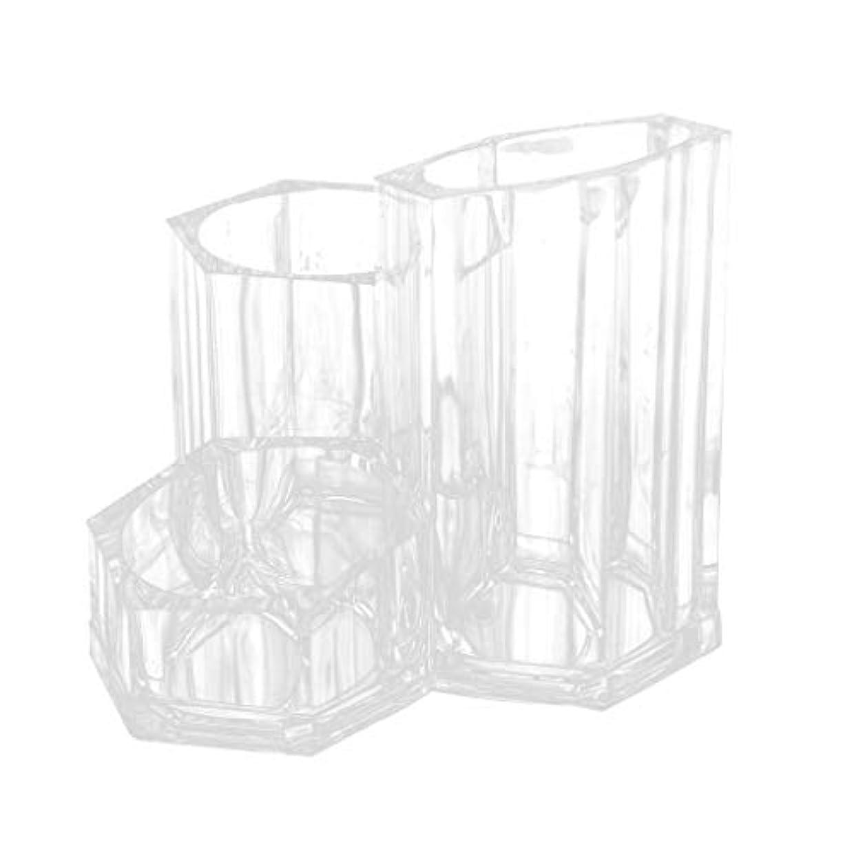 味付け湿原墓Hellery アクリルケース コスメ収納 メイクブラシホルダー 筒形 化粧筆立て 収納ボックス 化粧ブラシ収納