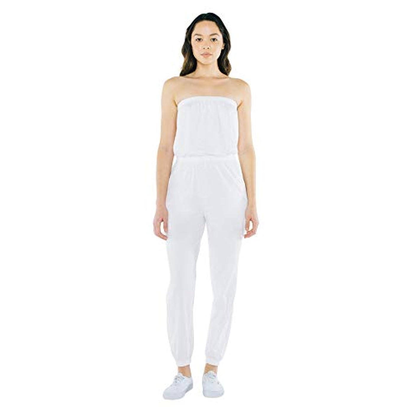 推定するくすぐったいラフトAmerican Apparel Women's Fine Jersey Strapless Jumpsuit