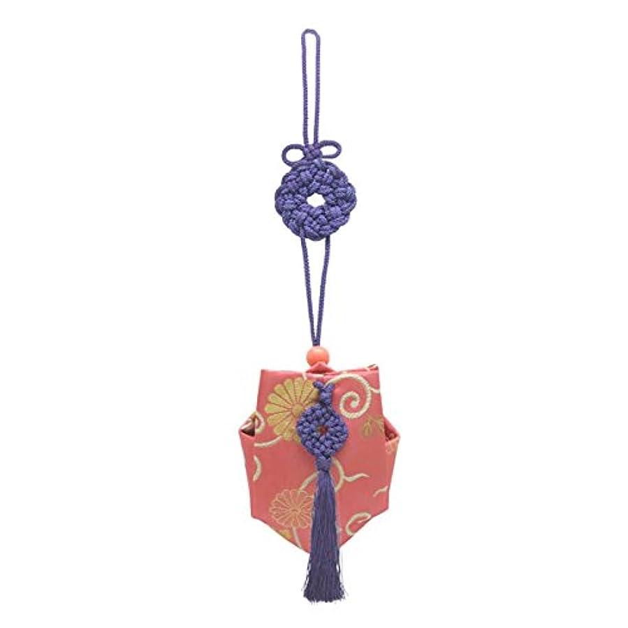ステートメント理想的には倫理的訶梨勒 上品 紙箱入  紫紐/牡丹唐草