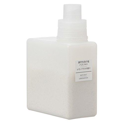 無印良品 瀬戸内海の塩バスソルト・レモングラスの香り 500g 日本製