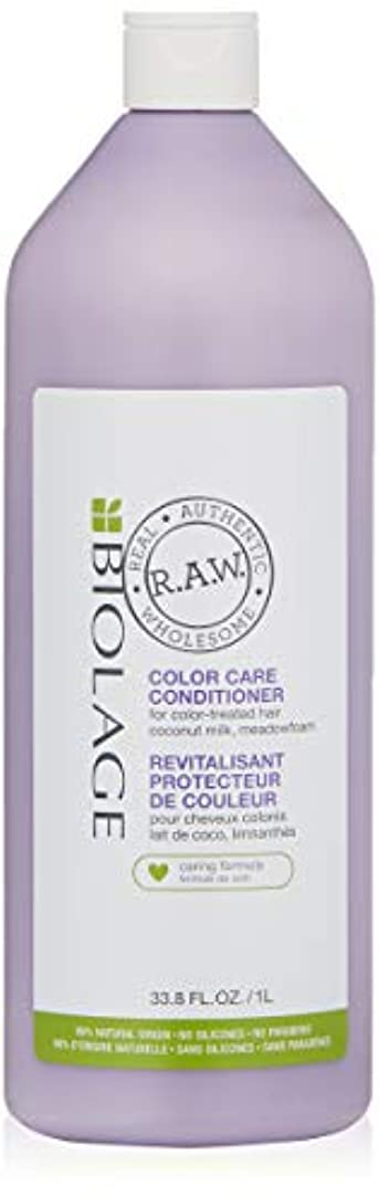 夜明けに波紋嫉妬マトリックス Biolage R.A.W. Color Care Conditioner (For Color-Treated Hair) 1000ml/33.8oz並行輸入品