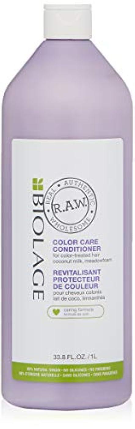 厚さ地味なパケットマトリックス Biolage R.A.W. Color Care Conditioner (For Color-Treated Hair) 1000ml/33.8oz並行輸入品