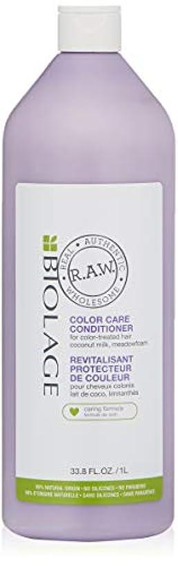 攻撃机共役マトリックス Biolage R.A.W. Color Care Conditioner (For Color-Treated Hair) 1000ml/33.8oz並行輸入品