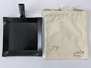 /moose/アウトドア鉄板 Frying iron(フライアン)鉄フライパン + 鉄板 Half&Halfのアウトドアクッカー 角型 ソロ