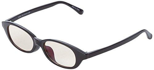 ELECOM スマートフォン・タブレット用 ゲーミング眼鏡 ブルーライト50%カット 子供用 P-GMG02BK