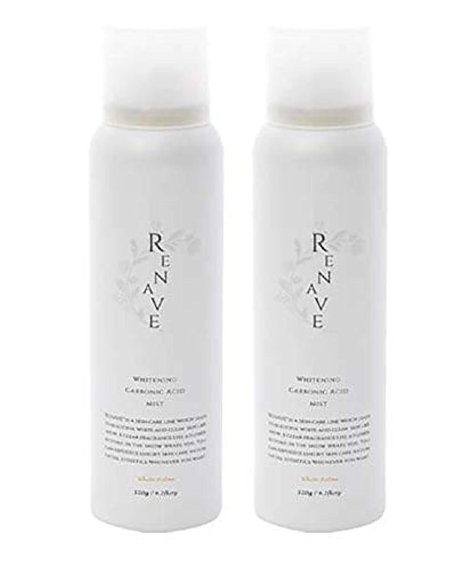 議会グラフィック例RENAVE(リネーヴェ) 高濃度炭酸ミスト 薬用美白化粧水 120ml 2本セット