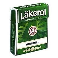 Lakerol Sugar & Calorie Free ORIGINAL Herb Menthol Pastilles