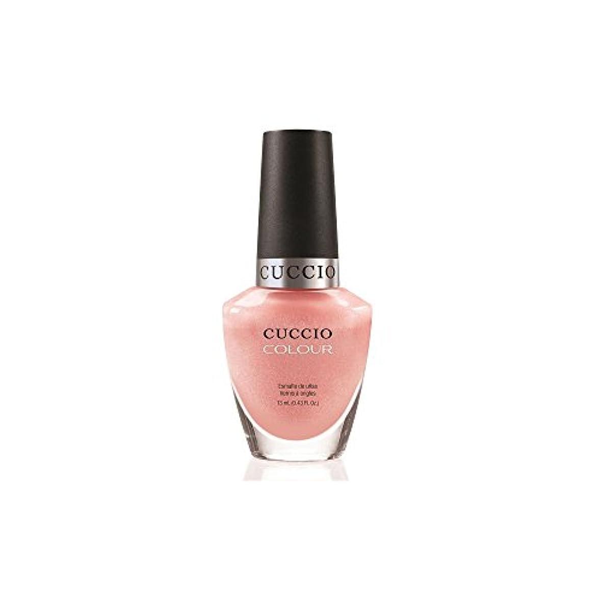 光景郵便番号変換するCuccio Colour Gloss Lacquer - Strauberry Colada - 0.43oz / 13ml
