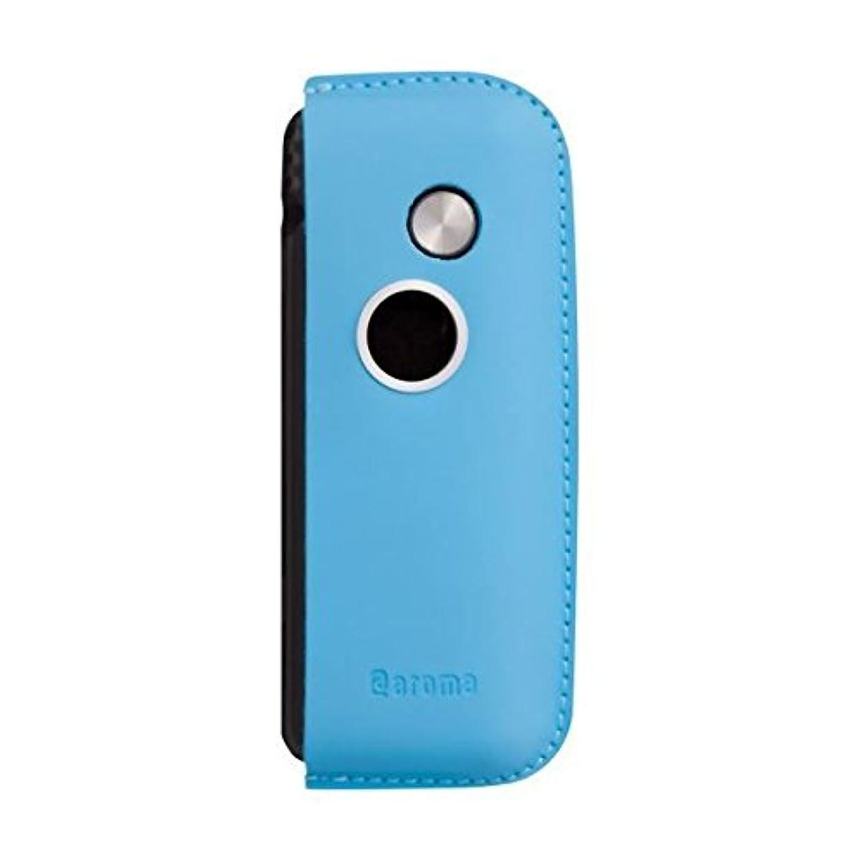 ロッジ目の前の葉を拾うファンファン(ブルー)&人気のアロマset【モバイルディフューザー funfan+AromaOil】mobile diffuser (Sunshine)