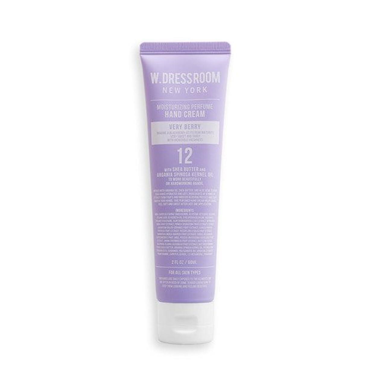 くすぐったい音節飼い慣らすW.DRESSROOM Moisturizing Perfume Hand Cream 60ml/ダブルドレスルーム モイスチャライジング パフューム ハンドクリーム 60ml (#No.12 Very Berry) [...