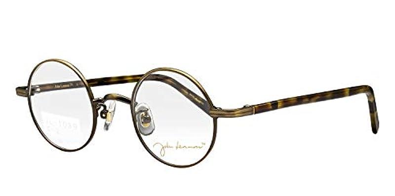 鯖江ワークス(SABAE WORKS) 老眼鏡 ブルーカット ジョンレノン 丸眼鏡 JL1039C2 +2.50
