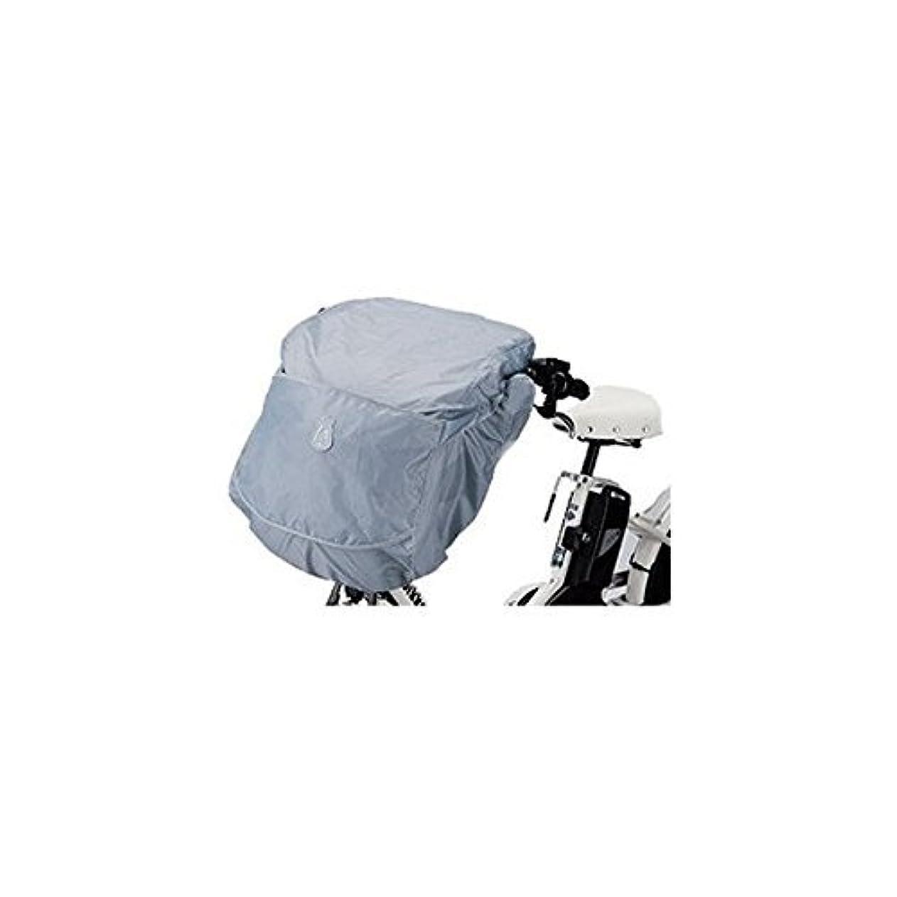 哲学的幻想バレルBRIDGESTONE(ブリヂストン) bikke POLAR用フロントチャイルドシートカバー A463011LB FCC-BKP ブルーグレー
