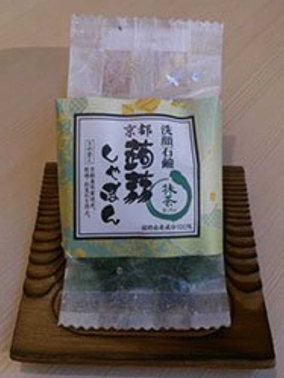 オーチャード展示会化学者京都蒟蒻しゃぼん「抹茶 まっちゃ」
