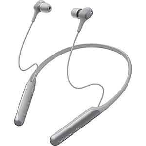ソニー SONY ワイヤレスノイズキャンセリングイヤホン WI-C600N : Bluetooth対応/高音質モデル/apt-x対応 2019年モデル グレー WI-C600N HM